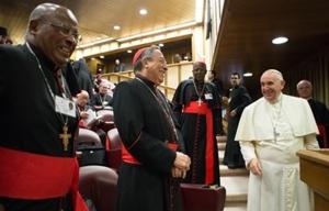 pave frans og kardinaler